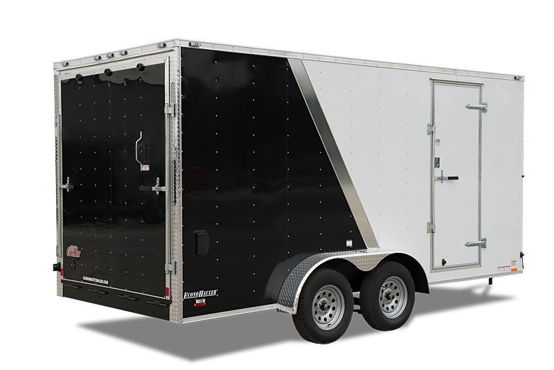 2019 Cargo Mate 6 x 12 Aluminum Enclosed Cargo Trailer 7K Ramp