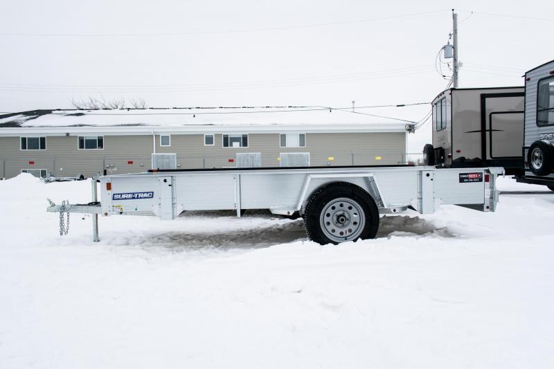 2019 Sure-Trac 6 x 12 Galvanized High Side 3k Idler