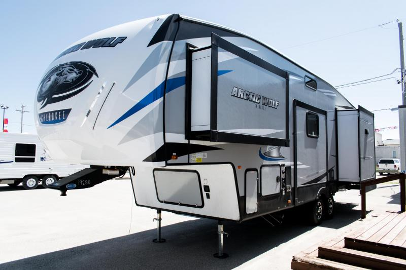 2019 Arctic Wolf Limited 295QSL8 5th Wheel Travel Trailer