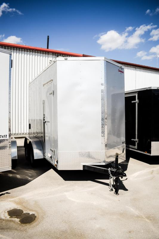 2017 Cargo Mate E Series Wedge 6X12 w/ 7' Ramp 7k