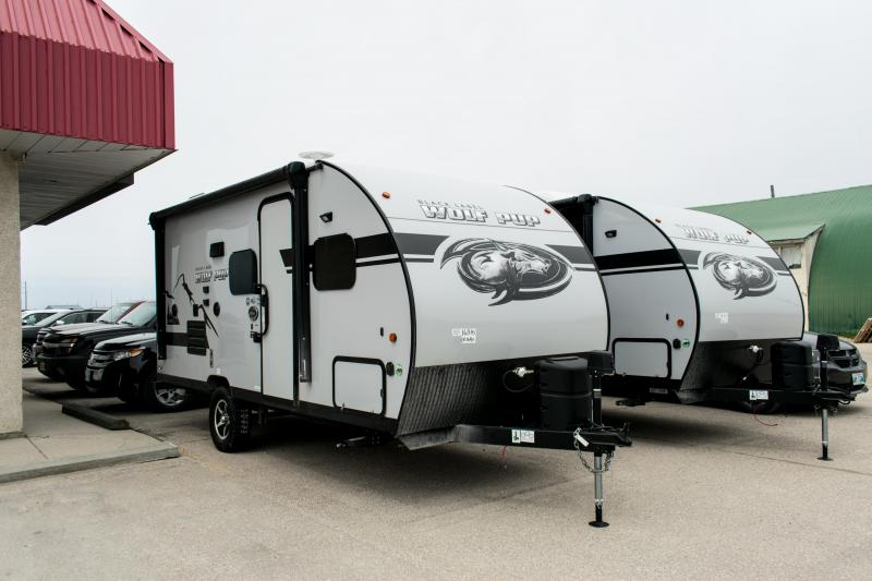2019 Wolf Pup Limited 16BHS Travel Trailer Black Label Edition
