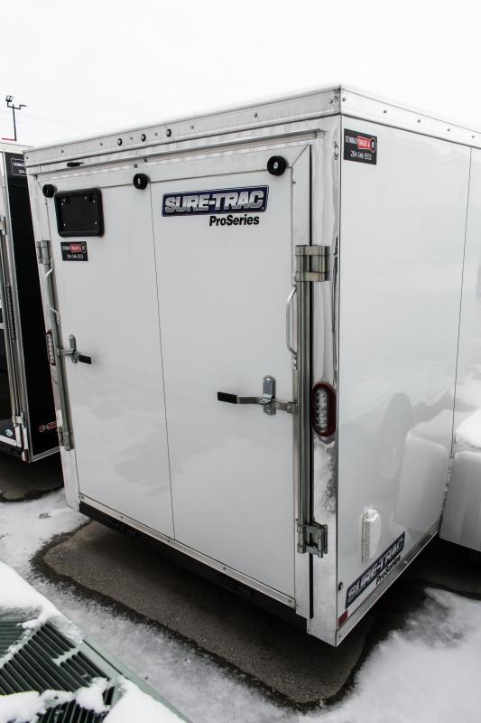 2018 Sure-Trac 6 x 12 Enclosed/Cargo Trailer 3k Barn