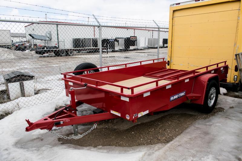2019 Sure-Trac 6 X 12 Steel High Side Utility Trailer 5K