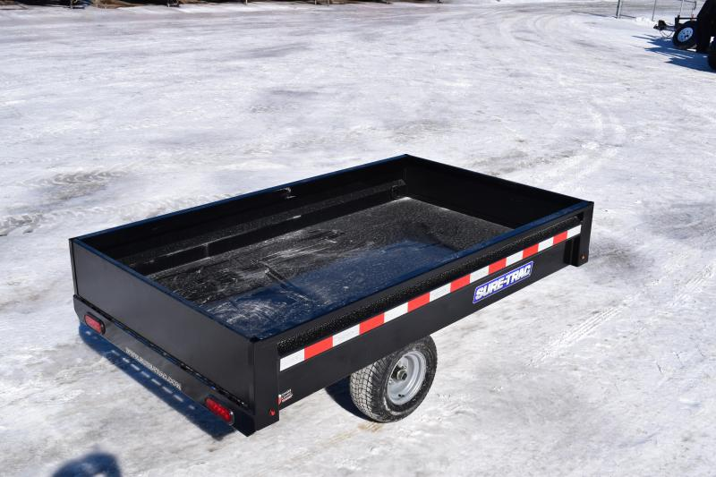2018 Sure-Trac 4.5 x 8ft Utility Dump Trailer 3K