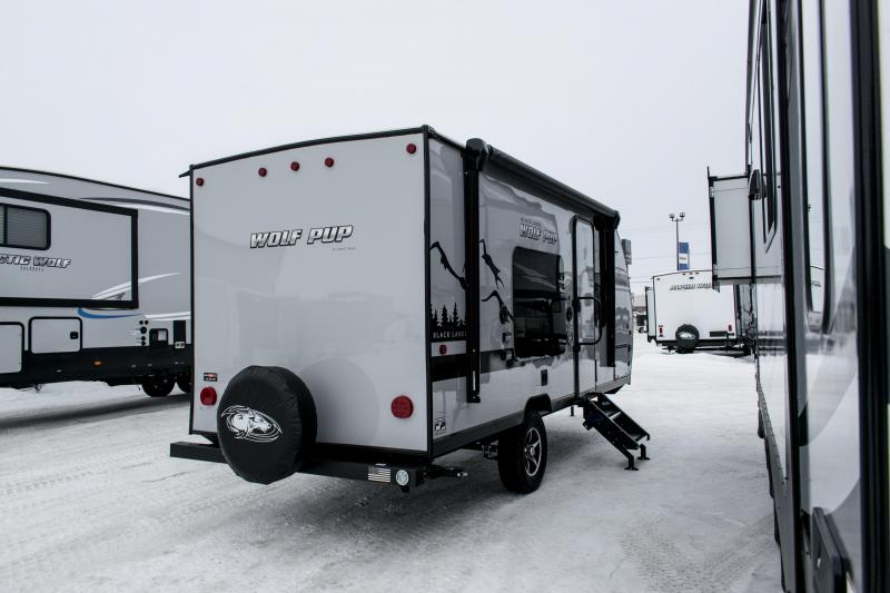 2019 Cherokee Trailers Wolf Pup Limited 16FQ Black Label/Adventure Edition Travel Trailer