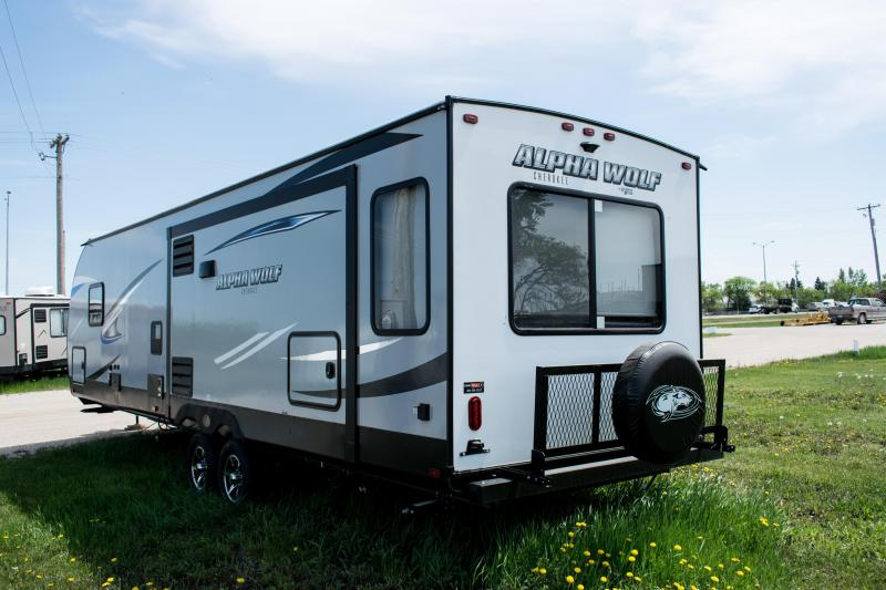 2019 Alpha Wolf Limited 26RL-L Travel Trailer Ultimate Couples Model