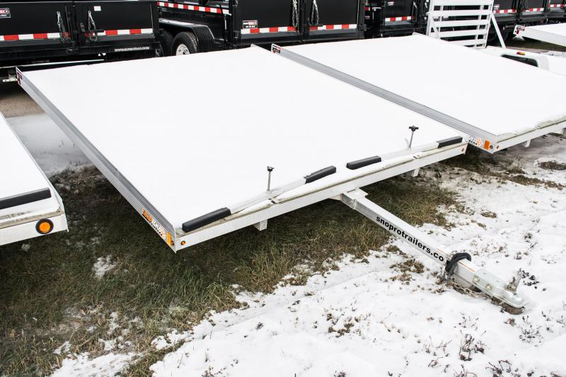 2017 SnoPro 10ft Lite-E 2-Place Snowmobile Trailer