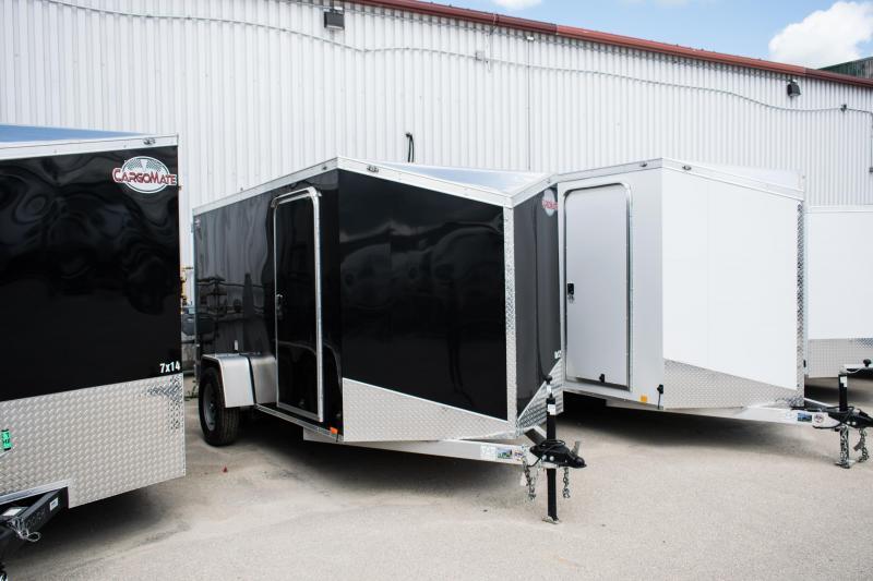 2019 Cargo Mate 6 x 12 Aluminium Enclosed Cargo Trailer
