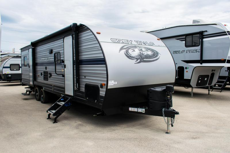 Grey Wolf Limited 27RR Toy Hauler/Travel Trailer