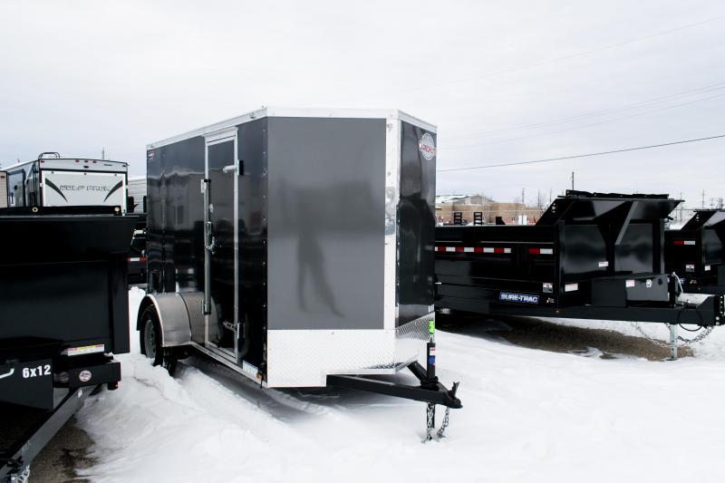 """2019 Cargo Mate 5X10 Enclosed Cargo Trailer +12"""" 3K Ramp"""