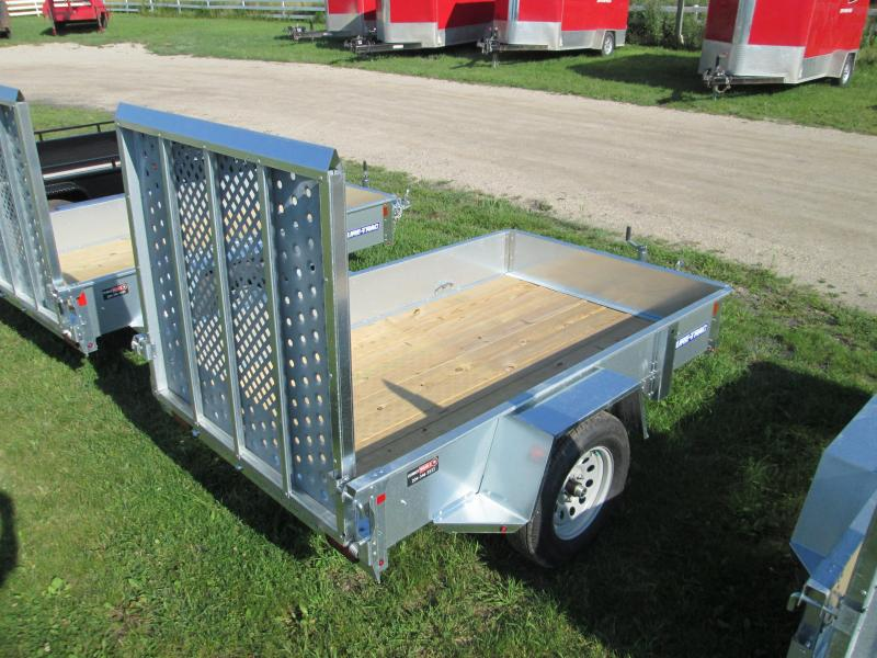 2017 Sure-Trac 5 x 8 Galvanized High Side 3k