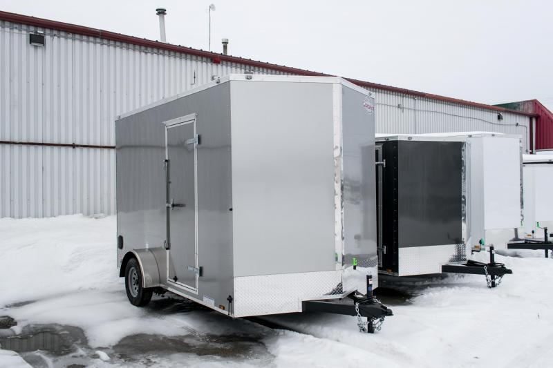 2019 Cargo Mate 7X12 Enclosed Cargo Trailer 3.5K Ramp