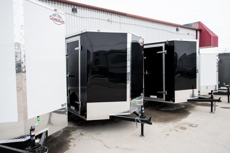 2019 Cargo Mate 6 X 10 Enclosed Cargo Trailer 3K