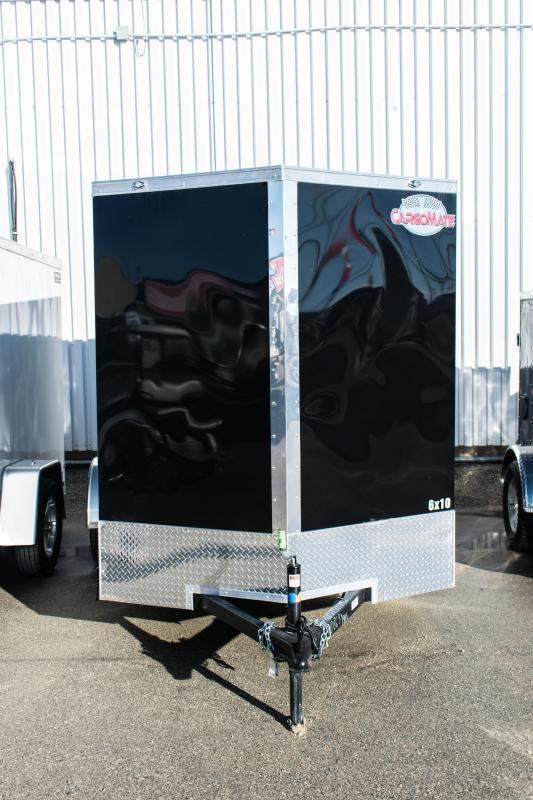 2019 Cargo Mate 6 X 10 Enclosed Cargo Trailer 3K