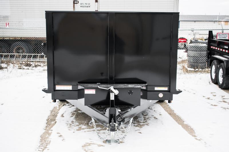 2019 Sure-Trac 82 IN X 14 LP 14K Dual Ram Dump 4' Sides