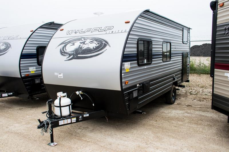2019 Wolf Pup Limited16BHS Travel Trailer