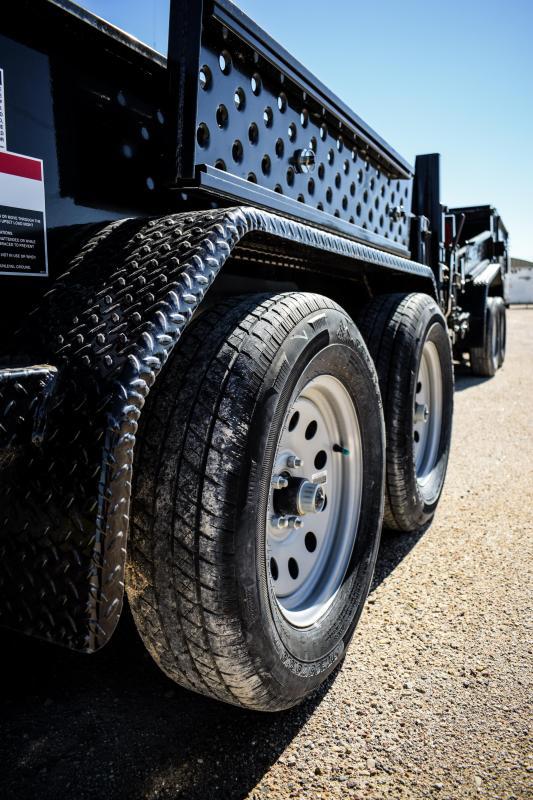 2018  Force 5X10 Tandem Axle Dump Trailer 7k