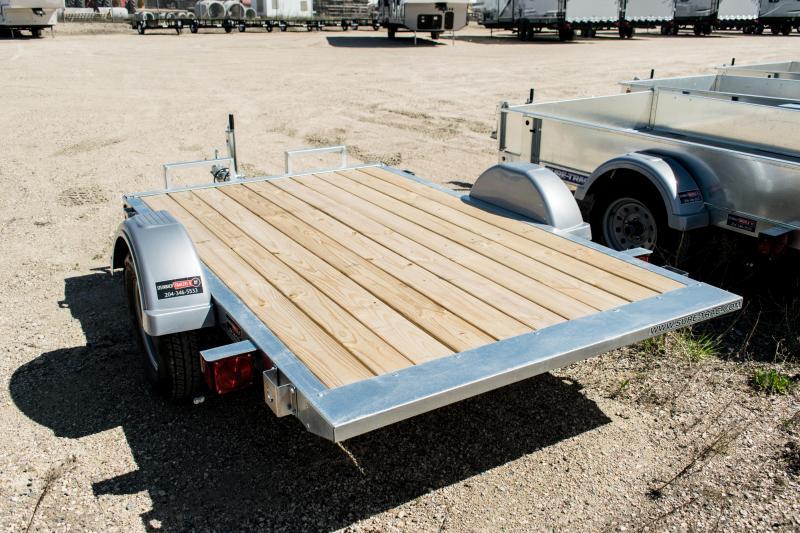 2018 Sure-Trac 5 x 8 Galvanized Tilt Bed 2k Idler