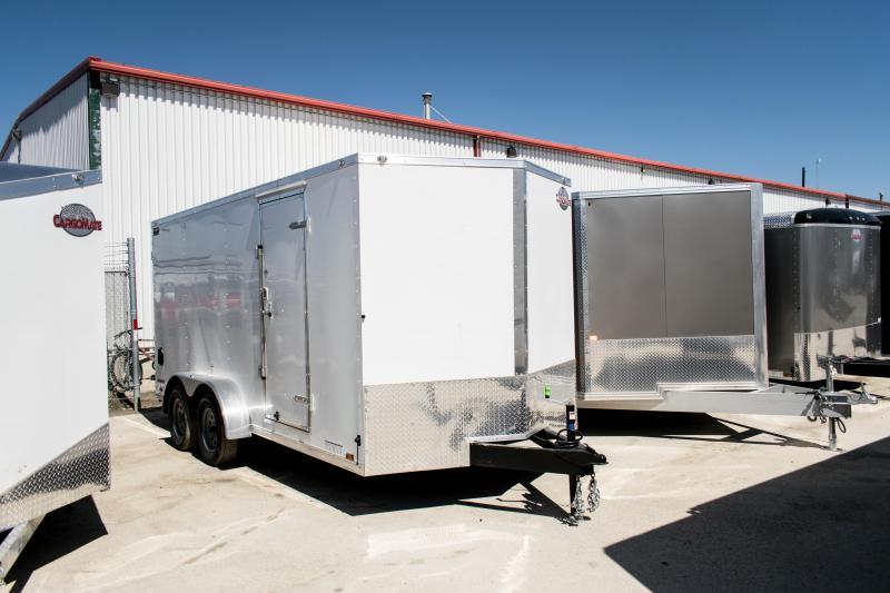 2019 Cargo Mate 7 X 16 Enclosed Cargo Trailer 7K Ramp