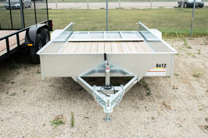 2018 Sure-Trac 6 x 12 Galvanized High Side 3k Idler