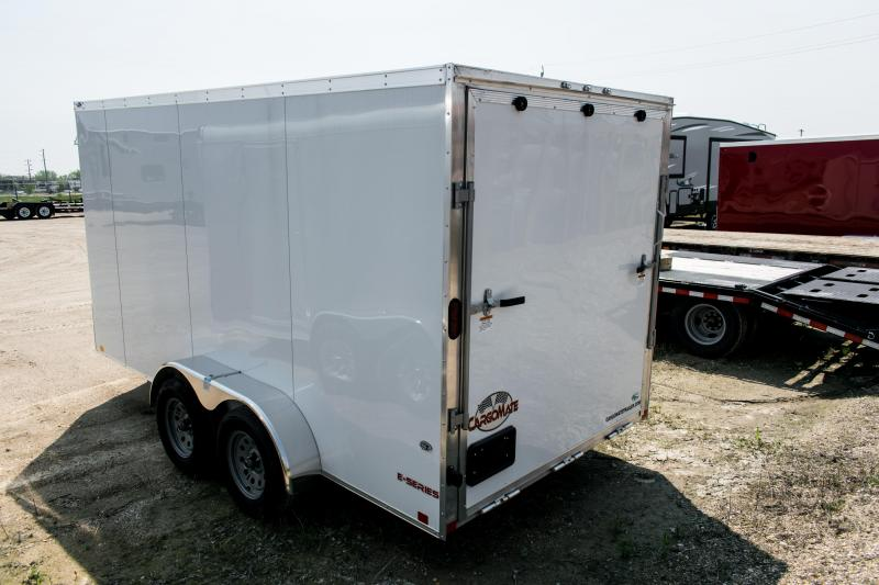 2020 Cargo Mate 7 x 14 Aluminium Enclosed Cargo Trailer Ramp 7K