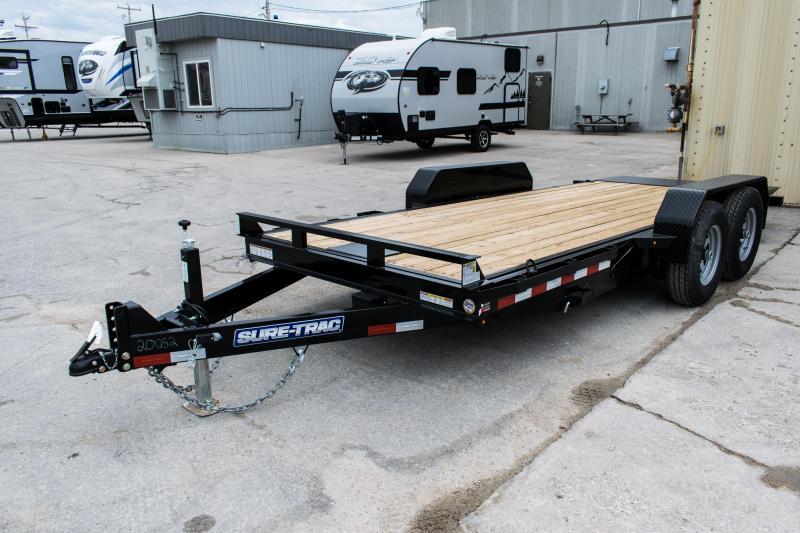 2020 Sure-Trac 7 X 18 14K Tilt Bed Equipment Trailer 14K