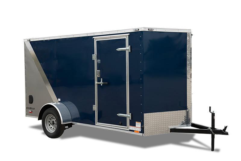 2019 Cargo Mate 6 X 12 Enclosed Cargo Trailer 3K