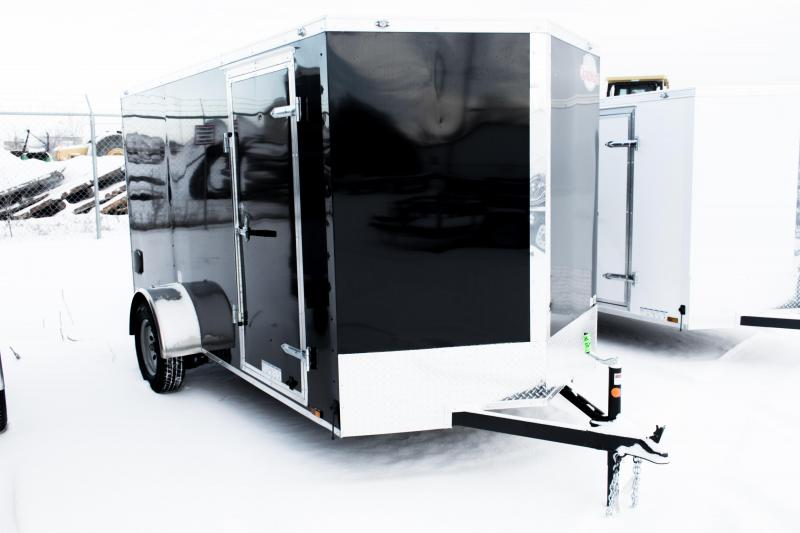 2019 Cargo Mate 6 X 12 Enclosed Cargo Trailer 3K