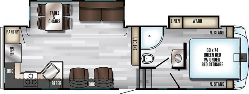 2020 Arctic Wolf Limited 245RK4-L Fifth Wheel Campers
