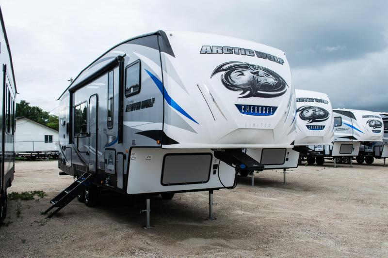 2020 Arctic Wolf Limited 245RK4-L Fifth Wheel Couples Campers