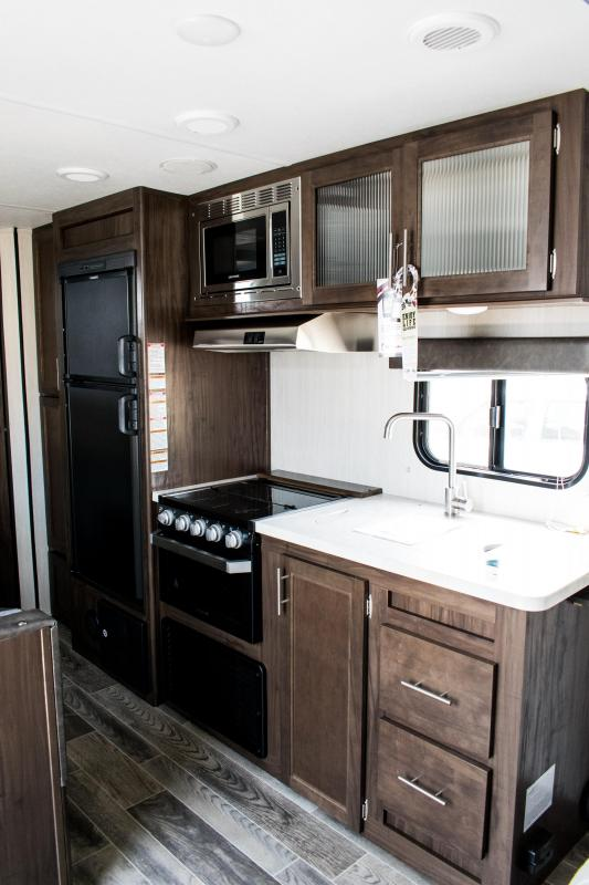 2019 Grey Wolf Limited 22MKSE Travel Trailer