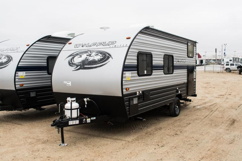 2019 Wolf Pup Limited 16BHS Travel Trailer