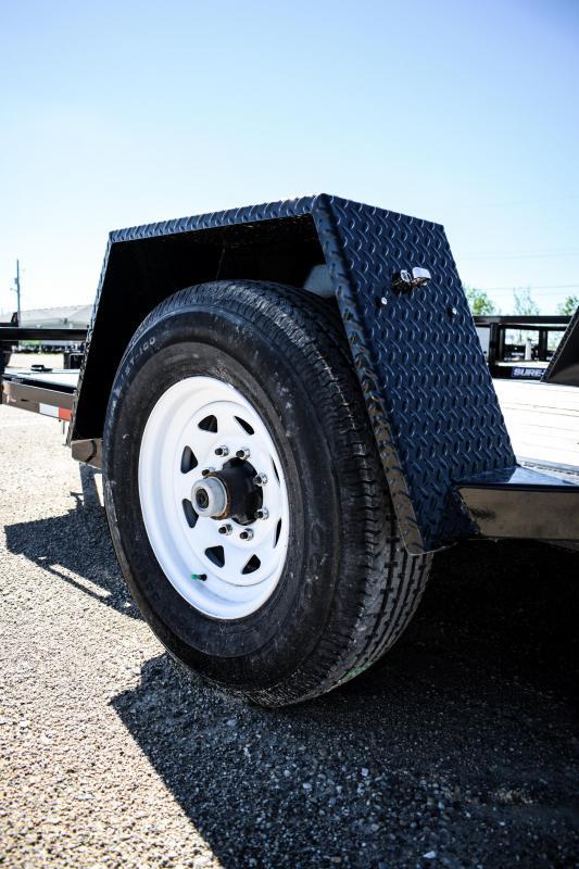 2018 Sure-Trac 78 IN X 12 Tilt Bed Equipment  7K