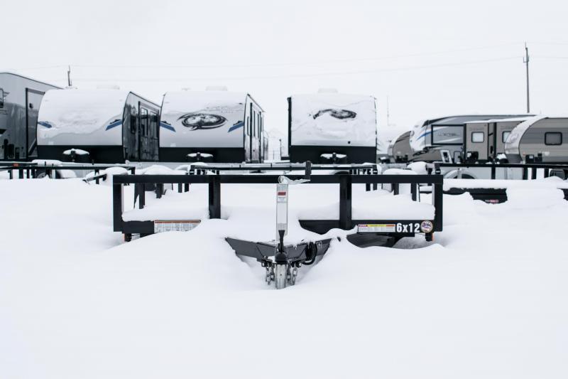 2019 Sure-Trac 6 x 12 Angle Iron Utility 3k Idler