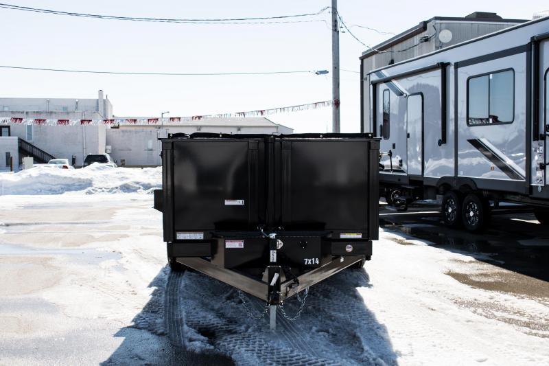 2019 Sure-Trac 82 IN X 14 LP 14K Telescopic Dump