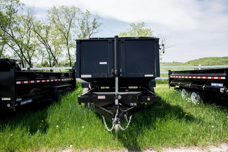 2019 Sure-Trac 7 X 14 LP 14K Telescopic Dump
