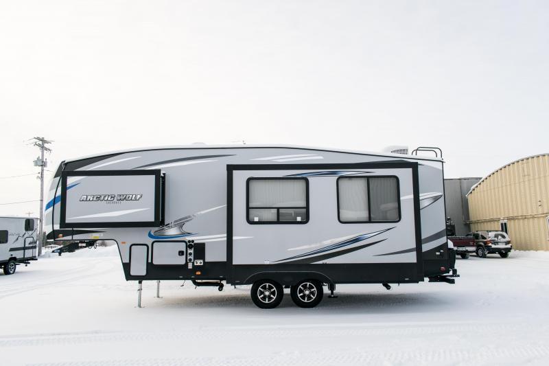2019 Arctic Wolf Limited 245RK4 5th Wheel Travel Trailer