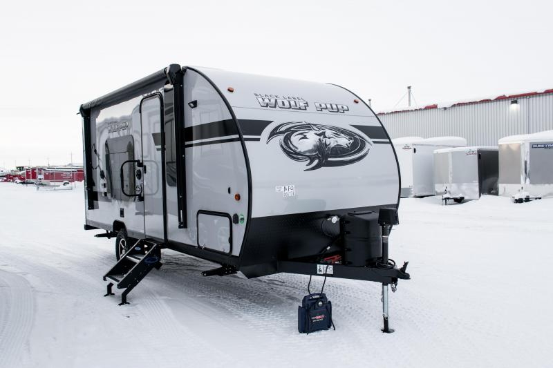 2019 Wolf Pup Limited 16FQ Black Label/Adventure Edition Travel Trailer
