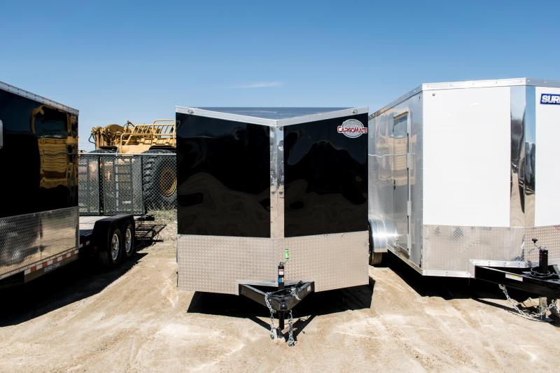 2019 Cargo Mate 7 x 14 Enclosed Cargo Trailer 7K Ramp