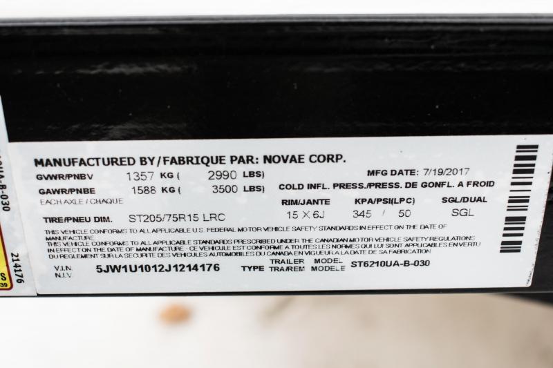 2018 Sure-Trac 5 x 10 Angle Iron Utility