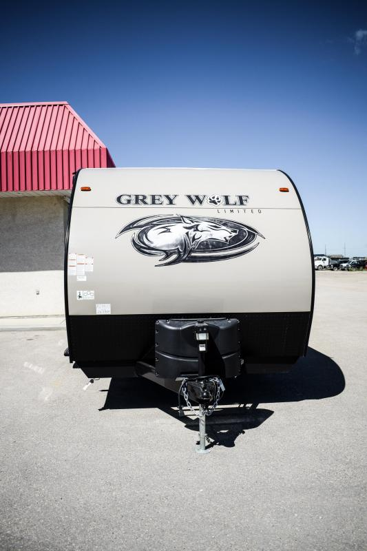 2018 Grey Wolf 26DBH Limitied Travel Trailer