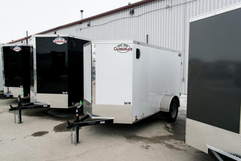 2019 Cargo Mate 5 X 10 Enclosed Cargo Trailer 3K