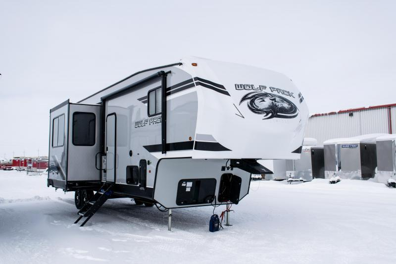 2019 Wolf Pack Limited 325pack13 5th Wheel Toy Hauler