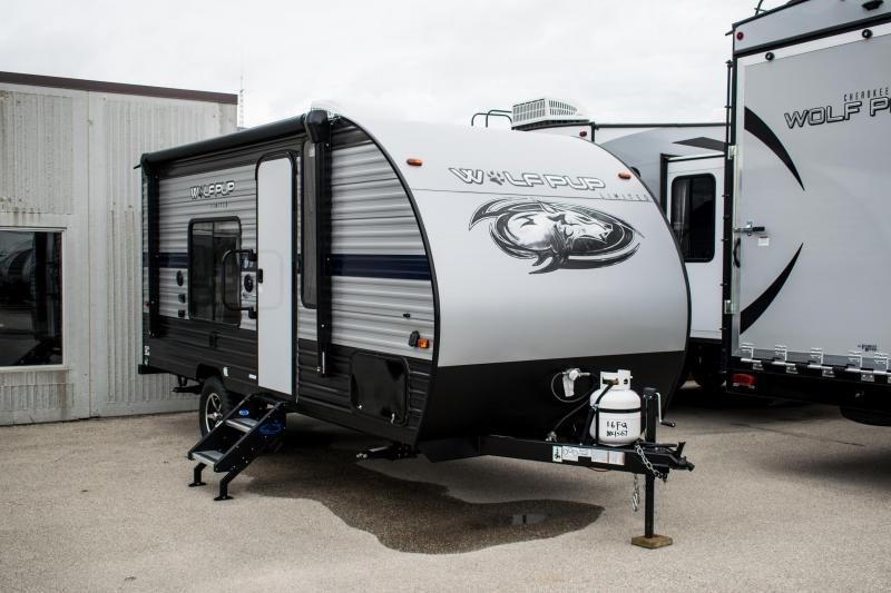 2020 Wolf Pup Limited16FQ Adventure Travel Trailer