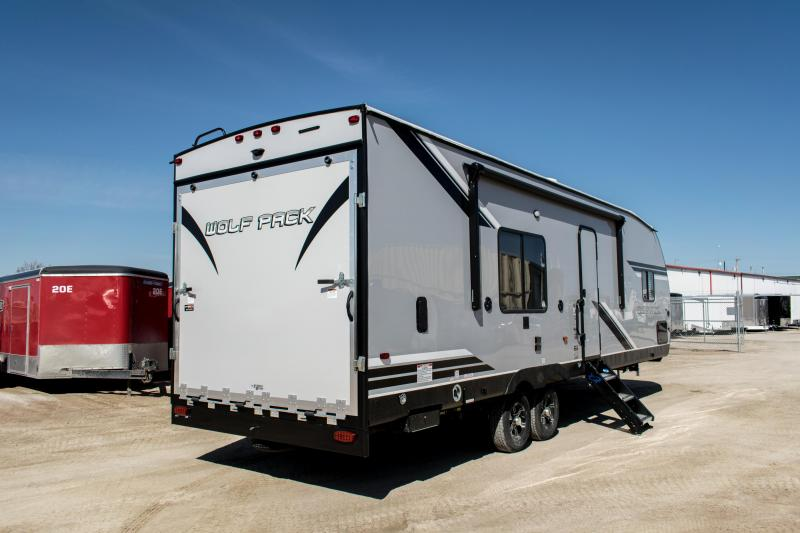 2019 Wolf Pack Limited 23Pack15 Toy Hauler Camper