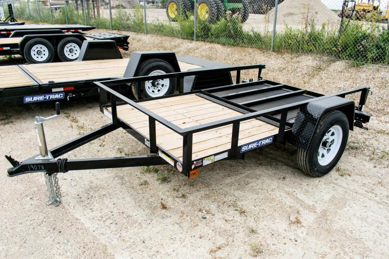 2019 Sure-Trac 5 x 8 Angle Iron Utility Trailer 3k