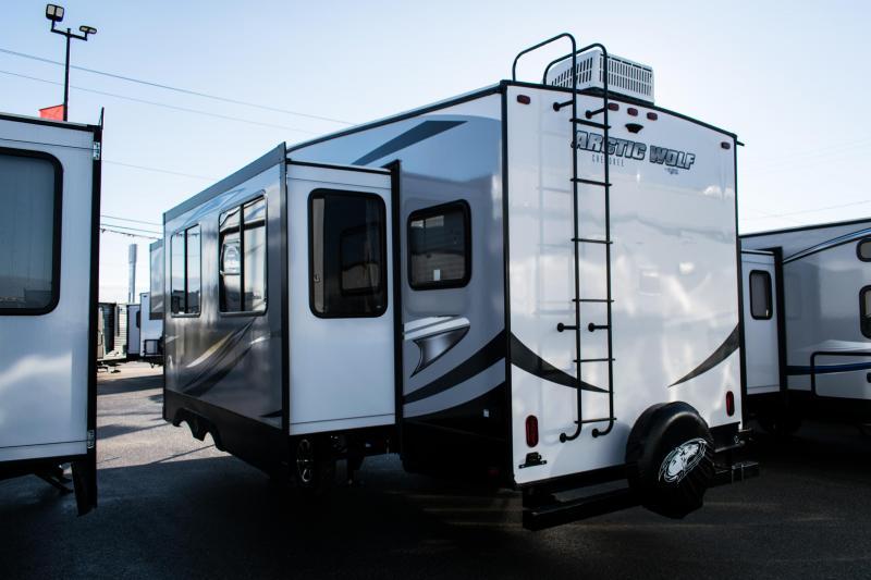 2019 Arctic Wolf 265DBH8 5th Wheel Travel Trailer