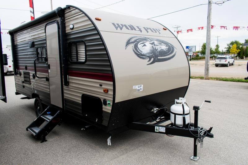 2019 Wolf Pup 16BHS Travel Trailer