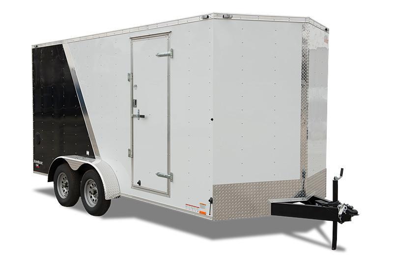 2019 Cargo Mate 8 X 16 Enclosed/Cargo Trailer 7K Ramp