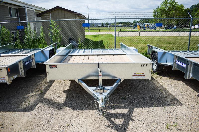 2018 Sure-Trac 7 x 12 Galvanized High Side 3k Idler